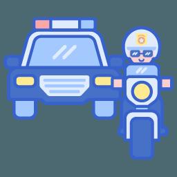 icon - police vehicles