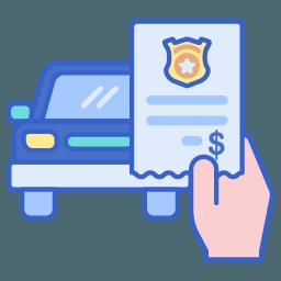 icon - traffic ticket
